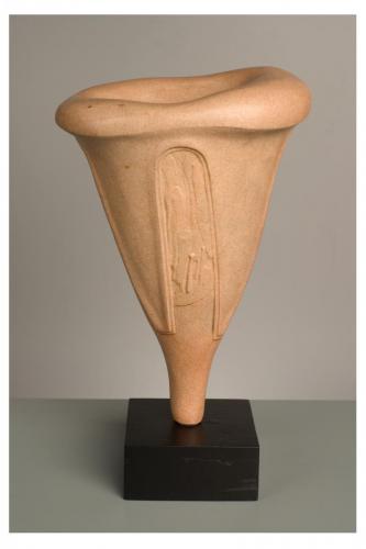 """Саксия"", 2003, каменина, 29х21х18 см"