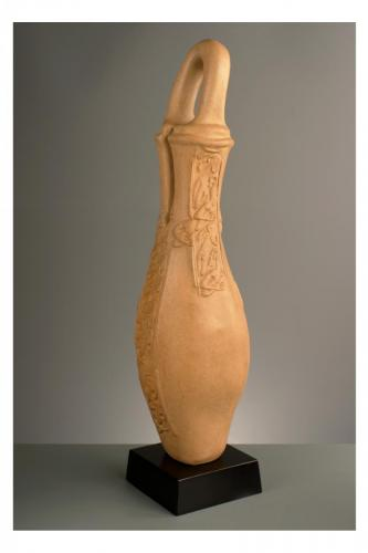 """Ръкатка"" 2003, каменина, 60х18х18 см"