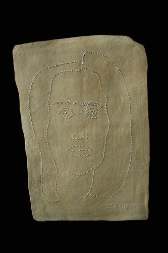 Мариета, 2011, каменина, глазура, 22х16,5 см